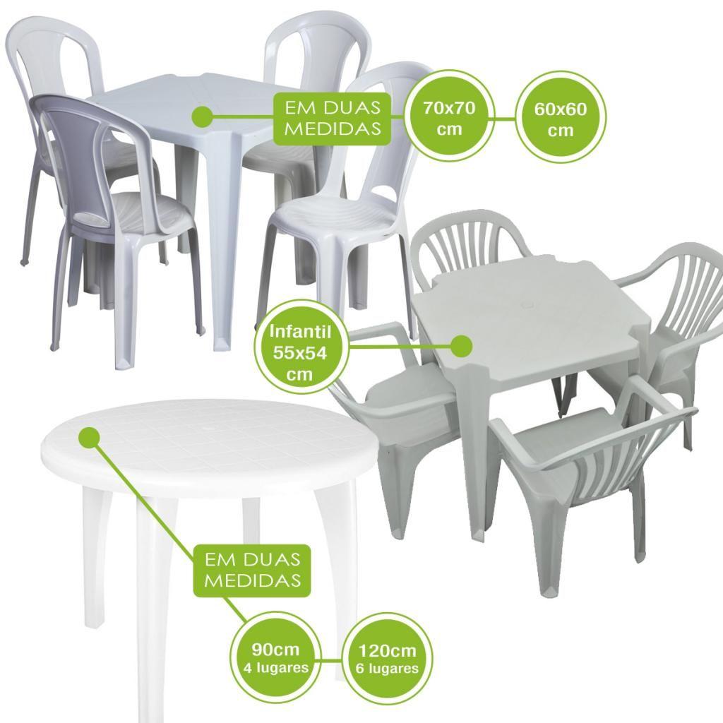 Mesas de plastico